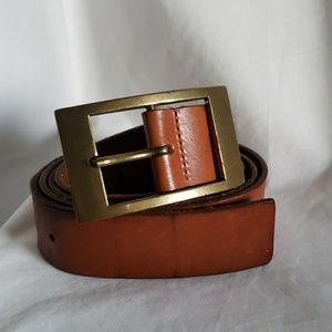 EXPRESS  camel leather belt